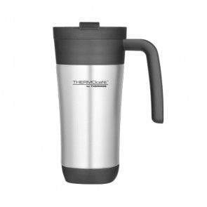 Stainless steel insulated travel mug 42.5cl / 14oz