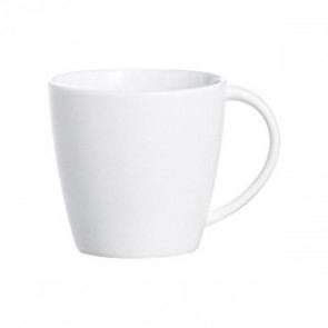 Porcelain white tea / coffee cup with handle 4oz / 12cl