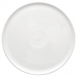 "Round pie dish 13"" / 32cm white - singly sold"
