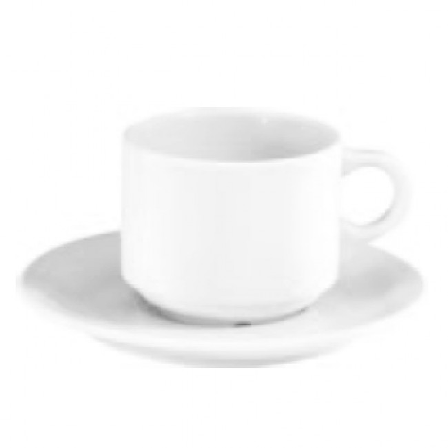 Porcelain breakfast cup 10oz / 30cl white