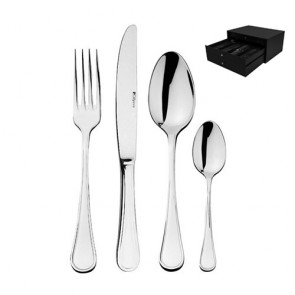 24 piece cutlery set - 18/10 stainless steel - Confidence - Guy Degrenne