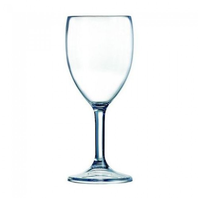 Polycarbonate wine glass 10oz / 30cl – Set of 6