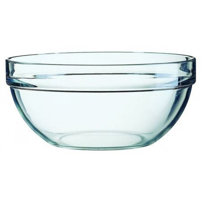 Mini stackable glass salad bowl 9 cm / 3.5""