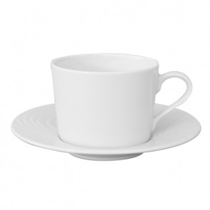 "Mug 8oz / 24cl and saucer 6"" / 16cm - Set of 6"
