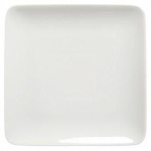"Square dinner-bread & butter plate 6"" / 14cm white - singly sold"