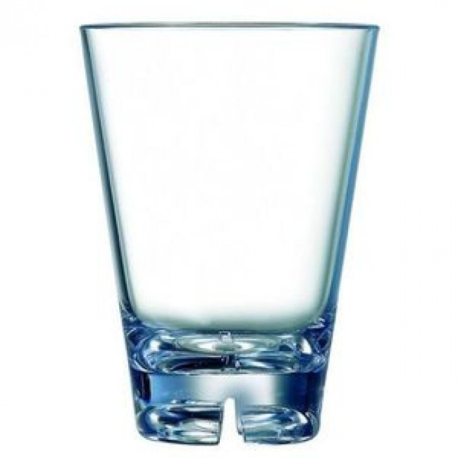 Water glass 30cl – Old fashioned polycarbonate goblet – Set of 6