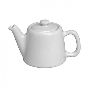 Standard porcelain teapot 2 servings 12oz / 35cl white
