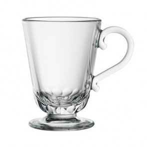 Glass mug - 25cl cup - Set of 6