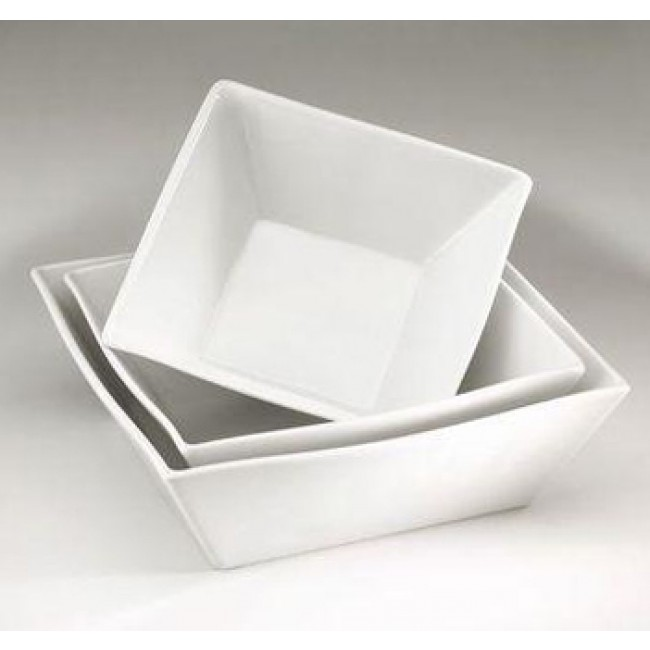 "Salad bowl 7"" / 7"" (18x18cm) 34oz / 100cl white - Quartet - Pillivuyt"