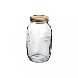 Canning jar 1.5 L with lid 86mm - Set of 6