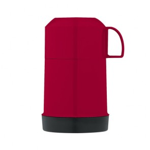 Insulated food flask 22cl / 7oz red