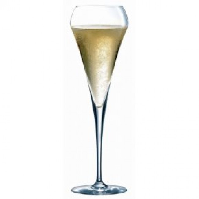 krysta champagne flute 20cl singly sold open up. Black Bedroom Furniture Sets. Home Design Ideas